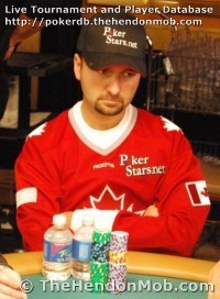 Bracelet number 4 for Negreanu