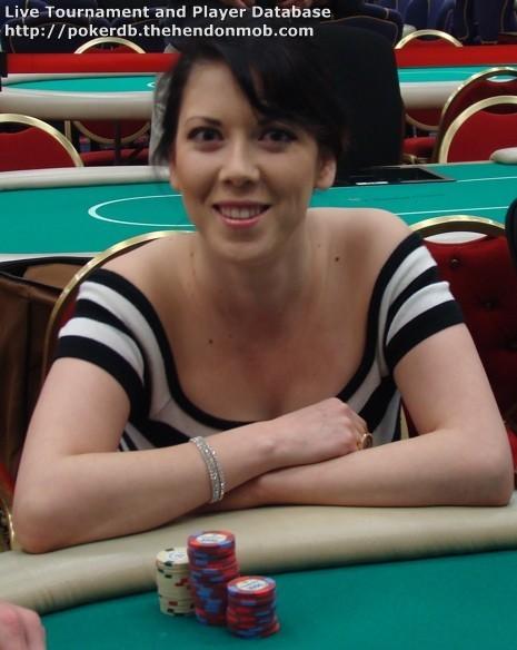 Live poker results database
