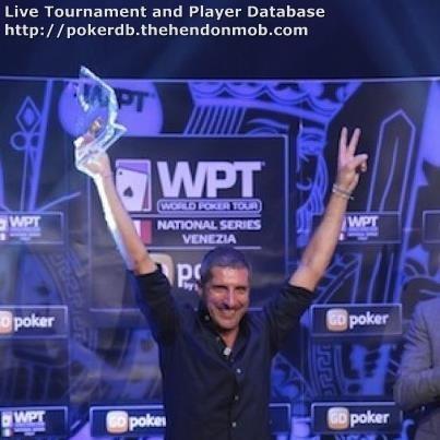 Alessandro Ferraresi Hendon Mob Poker Database