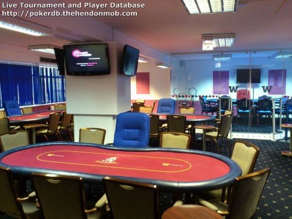 The western club poker room