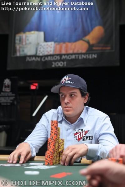 Carlos Mortensen's Gallery: Hendon Mob Poker Database