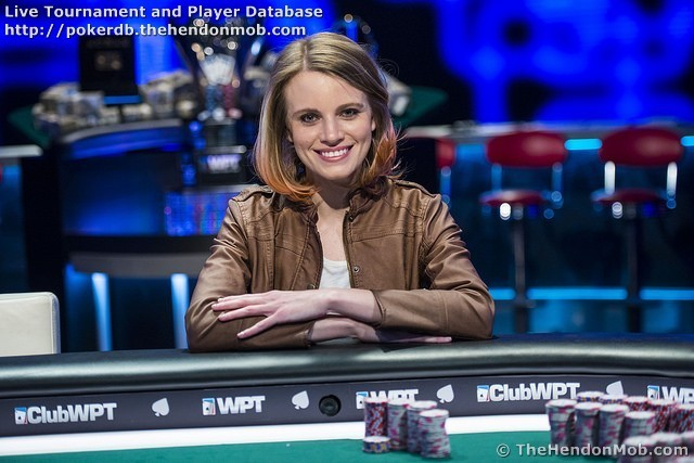 Cate Hall Poker