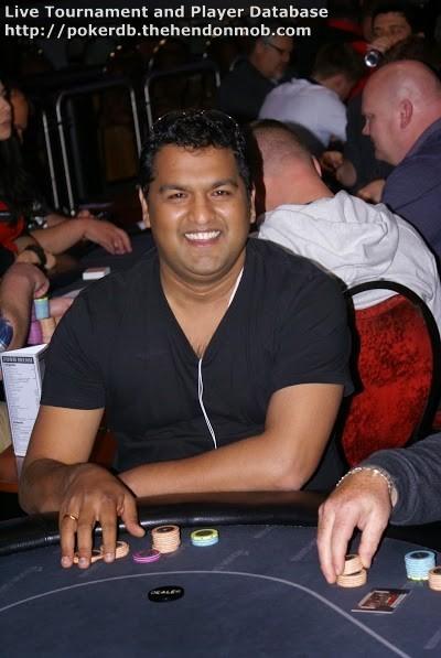 Ganesh Jayaraman Hendon Mob Poker Database