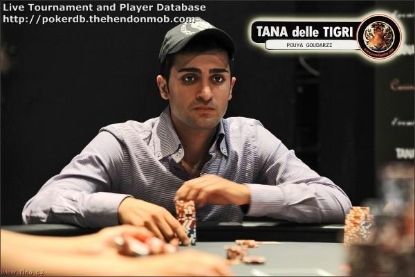Pouya Goudarzi Hendon Mob Poker Database