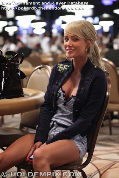 Jean poker player