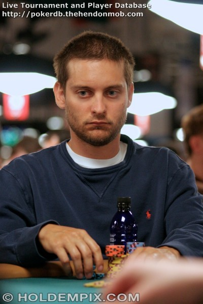 Tobey Maguire: Hendon Mob Poker Database