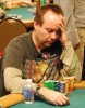 Andy Black looking focused with a big stack on Day 1A of the Main Event, WSOP 2007