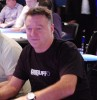 Ian Frazer, another early exit, although he made the final table of the �1000 event.
