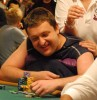Tony G enjoying a back rub in the $5,000 6-handed NLHE, WSOP 2007