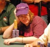 Kathy Liebert in the $2,000 Omaha Hi/Lo Split, WSOP 2007